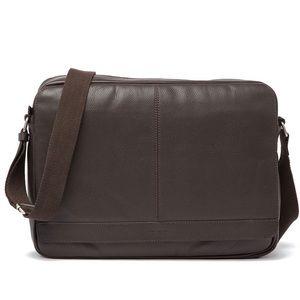 Cole Haan Pebbled Leather Messenger Bag, CHDM11046